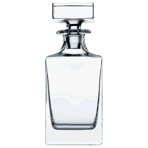 Nachtmann Whiskyflasche Julia Paola 0,75 l mit Stopfen eckig