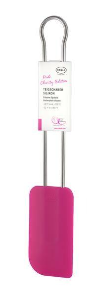 Rösle Teigschaber breit 26 cm Pink Charity Edition