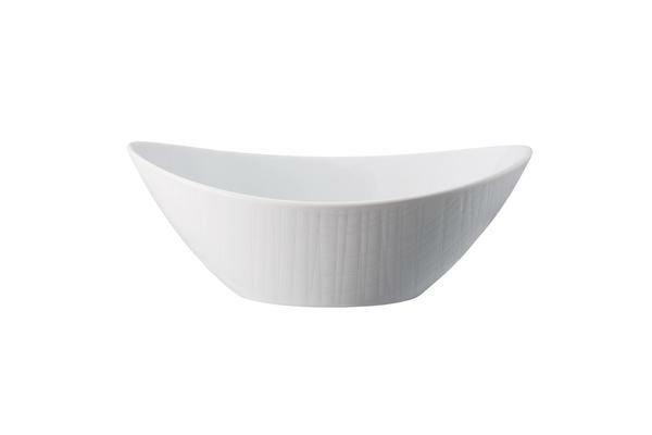 Rosenthal Schale 20×15 cm Mesh Weiß
