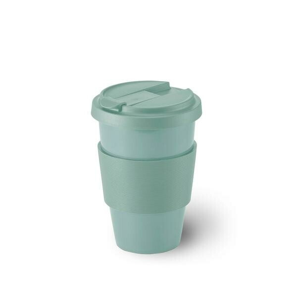Dibbern Porzellanbecher Coffee-To-Go 0,35 l Solid Color salbei