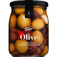 Viani Olive – Cocktail Oliven mit Knoblauch und Chili 260g   – An…, Italien, 156g