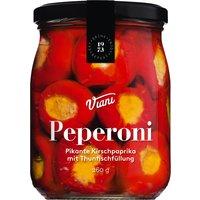 Viani Peperoni – Pikante Kirschpaprika mit Thunfischfüllung 260g…, Italien, 0.2600 kg