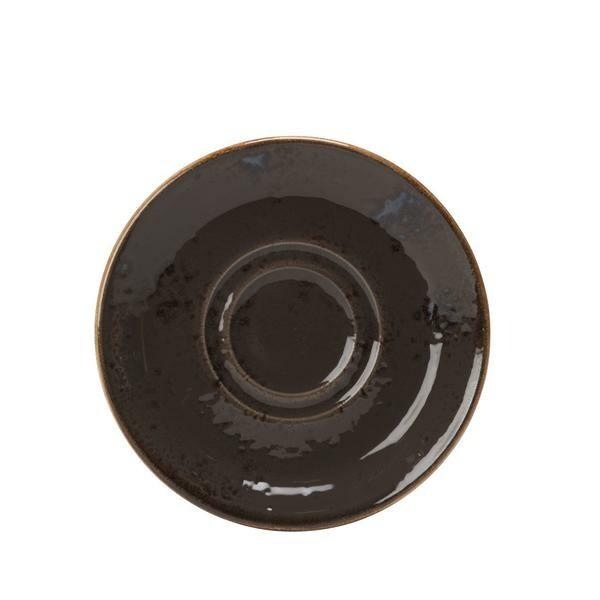 Steelite Kombi-Espressountertasse 12 cm 1154 Craft Grey