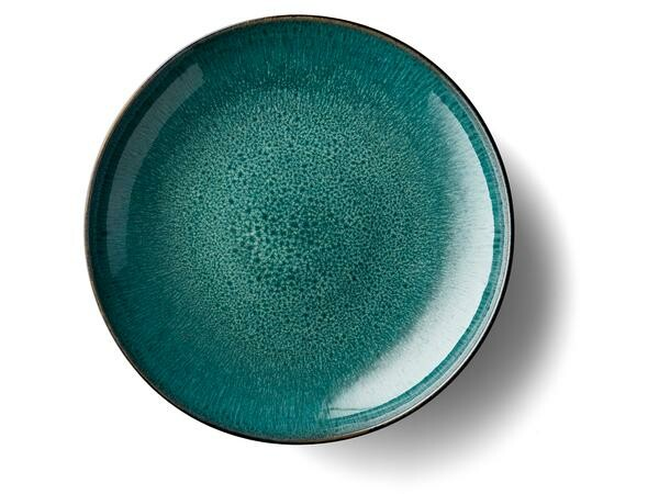 Bitz Schale 40 cm schwarz, grün
