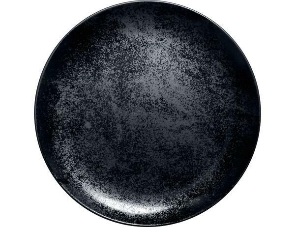 RAK Teller flach coup 29 cm Fusion Karbon schwarz