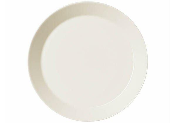 iittala Teller flach 23 cm Teema weiß