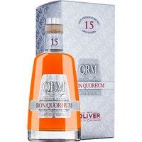 Ron Quorhum Solera Rum 15 Jahre in Gp   – Rum – Oliver & Oliver, Dominikanische Republik, trocken, 0,7l