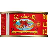 Sardanelli Tonno all'olio d'oliva – Gelbflossen-Thunfisch in Oliv…, Italien, 0.0800 kg