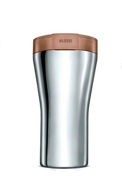 Alessi Travel Mug 0,4 l Caffa braun