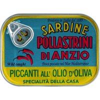 Sardine Pollastrini di Anzio piccanti all'olio d'oliva – Sardinen…, Italien, 0.1000 kg