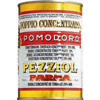 Pezziol Pomodoro Marca Bianca – Tomatenmark, Dose 400g   – Konserven, Italien, 0.4000 kg
