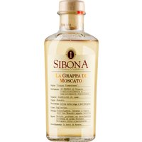 Sibona Antica Distilleria Grappa di Moscato   – Grappa, Italien, trocken, 0,5l