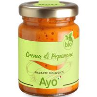 Ayo Crema di Peperone piccante biologico 95g   – Saucen, Pesto & …, Italien, 95g