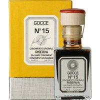 Gocce Condimento Originale N°15 Riserva Balsamessig aus Modena 1…, Italien, 0.0500 l