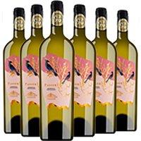 6er Paket Montemajor Passerì Lazio Petit Manseng Chardonnay   – …, Italien, trocken, 4.5000 l