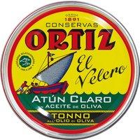 Ortiz El Velero Atun Claro – Gelbflossen-Thunfisch in Olivenöl, …, Spanien, 0.2500 kg