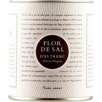 Flor de Sal d'Es Trenc Olivas Negras natürliches Meersalzmit gem…, Spanien, 0.1500 kg