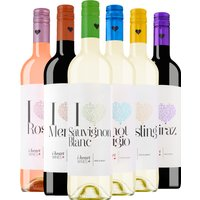 6er Probierpaket iheart Wines   – Wein – Henkell – Freixenet, Spanien, 4.5000 l