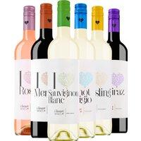 6er Probierpaket iheart Wines   – Weinpakete, Spanien, 4.5000 l