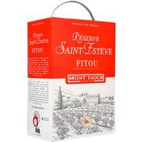 Saint Esteve Reserve Fitou Aoc 3,0L Bag in Box   – Rotwein, Frankreich, trocken, 3l