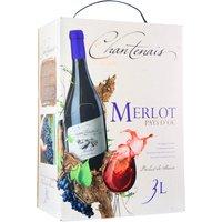 Chantenais Merlot 3,0L Bag in Box   – Rotwein, Frankreich, trocken, 3l