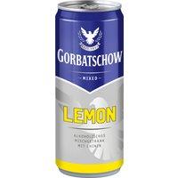 Wodka Gorbatschow Lemon 10% – 330ml Dose   – Vodka, Deutschland, trocken, 0.3300 l