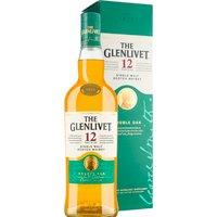 The Glenlivet 12 Jahre Single Malt Scotch Whisky Double Oak in Gp…, Schottland, trocken, 0,7l