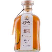 Ziegler Edelbrand Alter Apfel Im Holzfass gereift    – Obstbrand, Deutschland, trocken, 0,7l