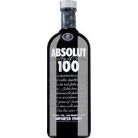 Absolut Vodka 100 Country of Sweden    – Vodka, Schweden, trocken, 1l