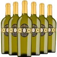 6er Paket Montemajor Falanghina Beneventano Igp   – Weinpakete, Italien, trocken, 4.5000 l