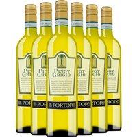 6er Aktionspaket Toser Vini Il Portone Pinot Grigio delle Venezie…, Italien, trocken, 4.5000 l
