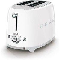smeg 2-Schlitz-Toaster 50's Style weiß