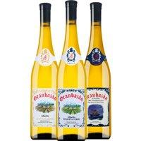 3er Paket Winetasting Granbazán   – Wein, Spanien, trocken, 2.2500 l