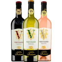 3er Weinpaket Barbanera Vecciano: Weiß – Rosé – Rot   – Weinpakete, Italien, trocken, 2.2500 l